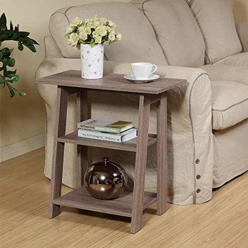 best seller homeconcept 11450rg ladder chairside end table