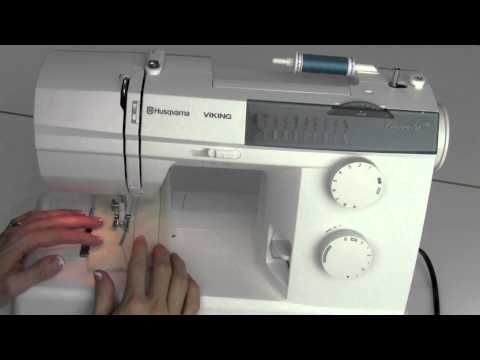 Viking Emerald 118 09 Selecting Stitches, Width, Lenth & Needle ...