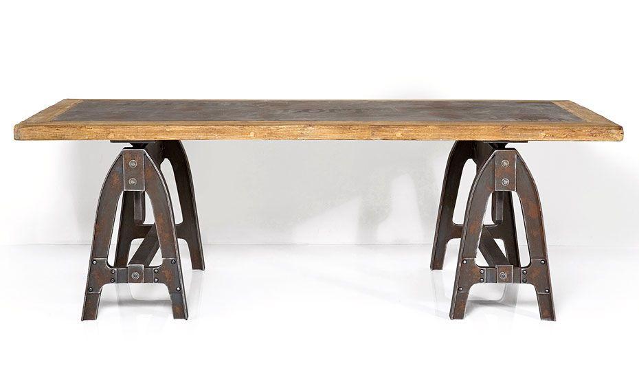 Industrial Tisch mesa de escritorio industrial tisch material madera de abeto peso