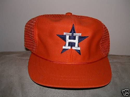 Houston Astros Youth JR Kid size MLB Orange Hat Cap | Ebay Listings