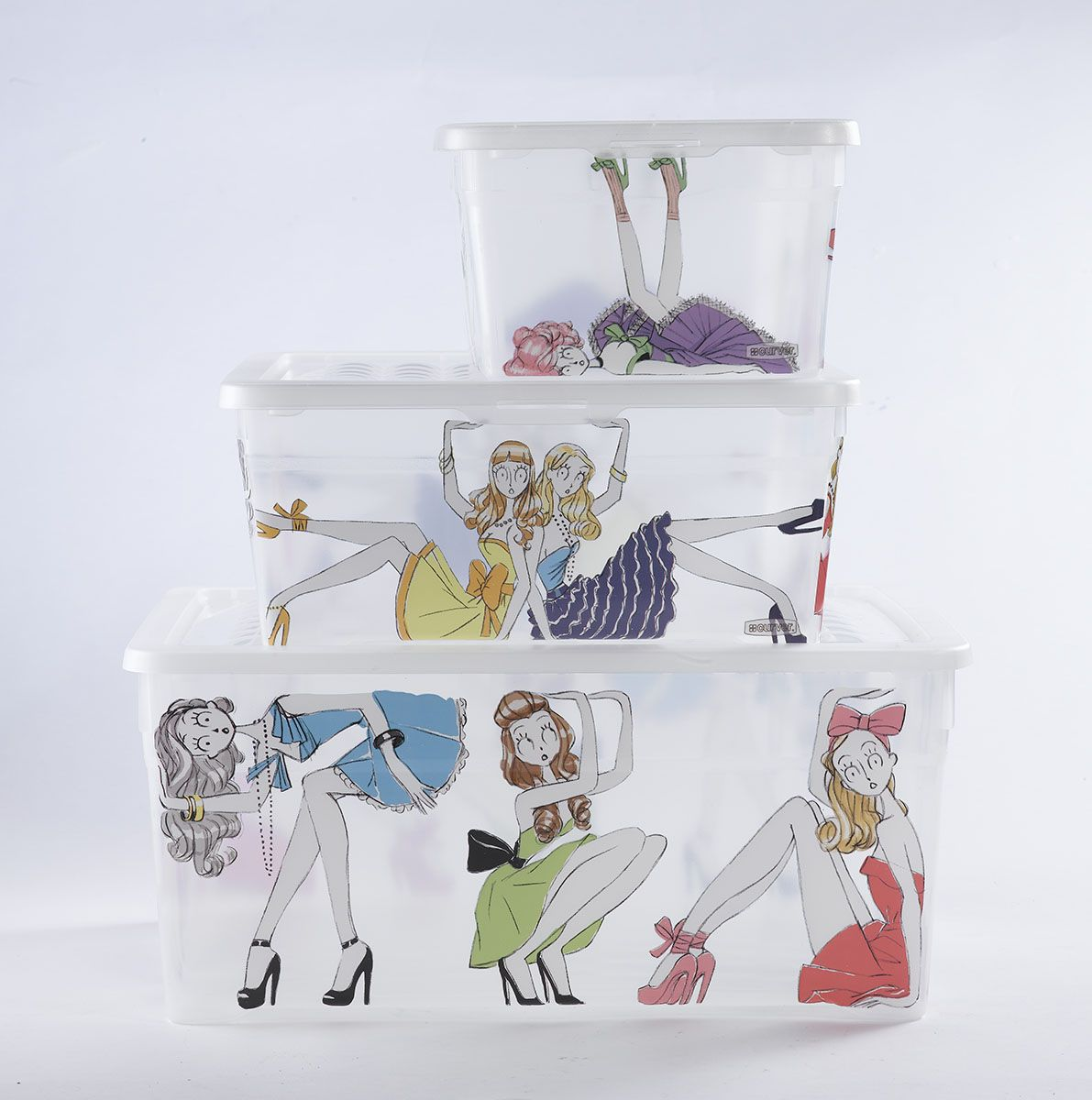 Perfect Curver #dolls Storage Box