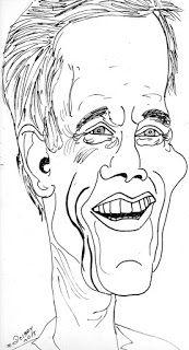 CARICATURAS DELBOY: KEVIN BACON