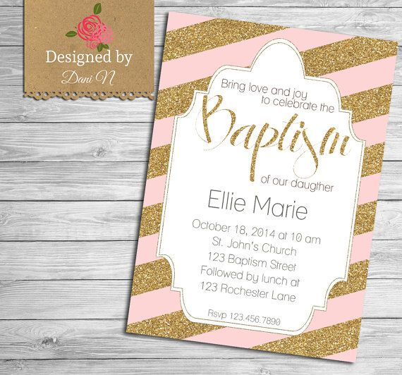 invitation baptism or christening catholic baptism celebration