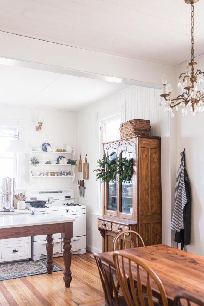 Victorian Farmhouse Kitchen Reveal - Farmhouse on Boone