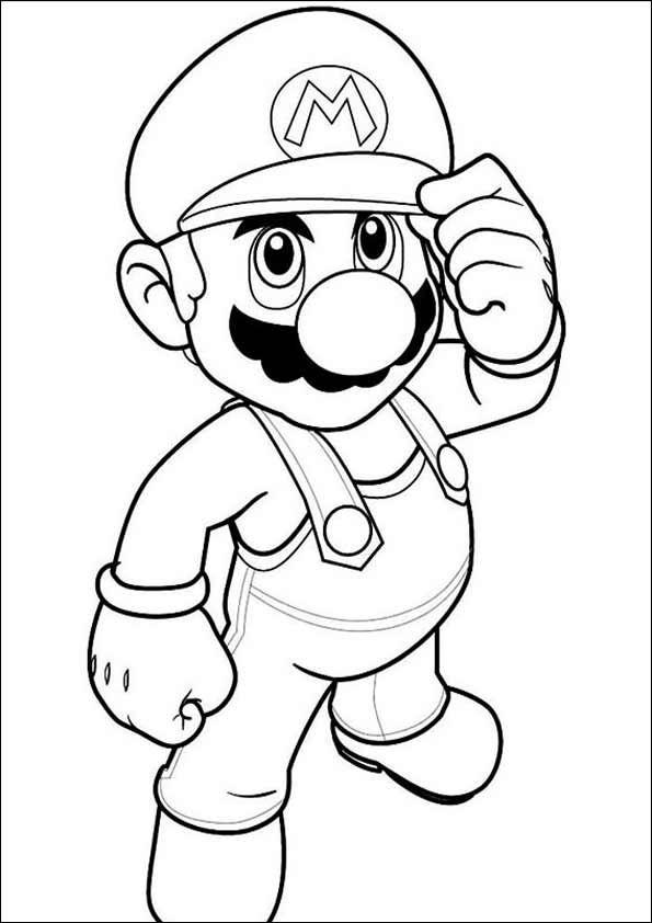 Ausmalbilder Super Mario 02 Ausmalbilder Zum Ausdrucken Ausmalbilder Malvorlagen Fur Jungen Lustige Malvorlagen