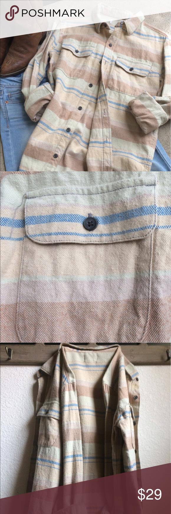 Flannel shirt with khaki pants  Sun Kissed