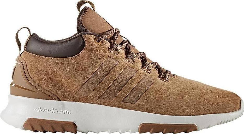 new style 85b61 9ecdc Adidas CF RACER MID WTR CG5695 Suede Timber Style camel mens new boots  ankle Adidas CLOUDFOAM