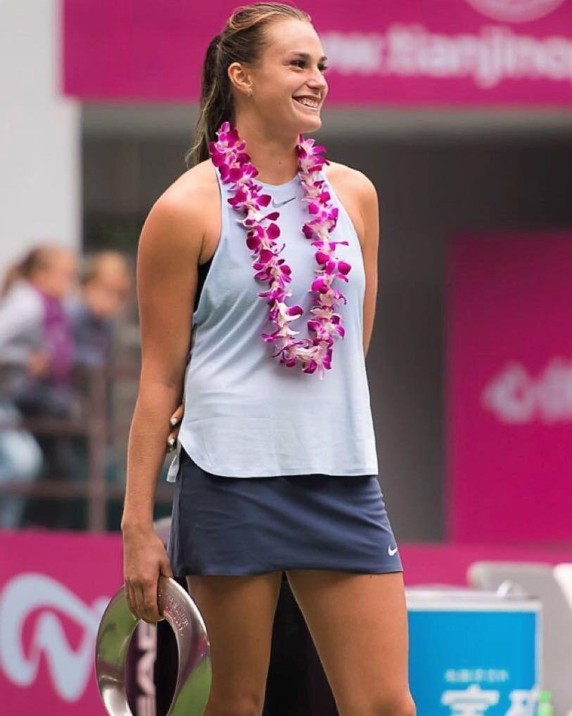 Wta Hotties 2017 Hot 100 91 Aryna Sabalenka Sabalenkaa Tennis Players Female Tennis Fashion Female Athletes