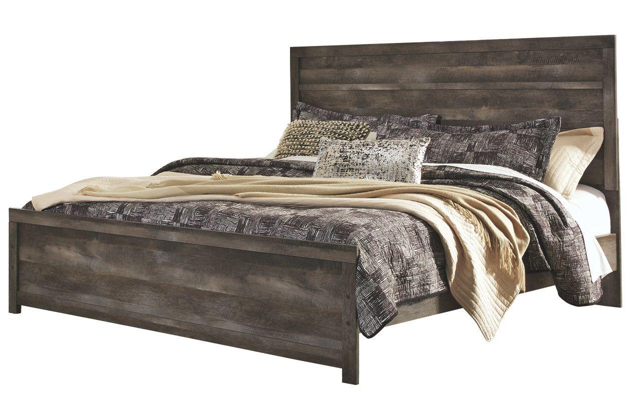 Wynnlow Queen Panel Bed Queen panel beds, Panel bed, Bed