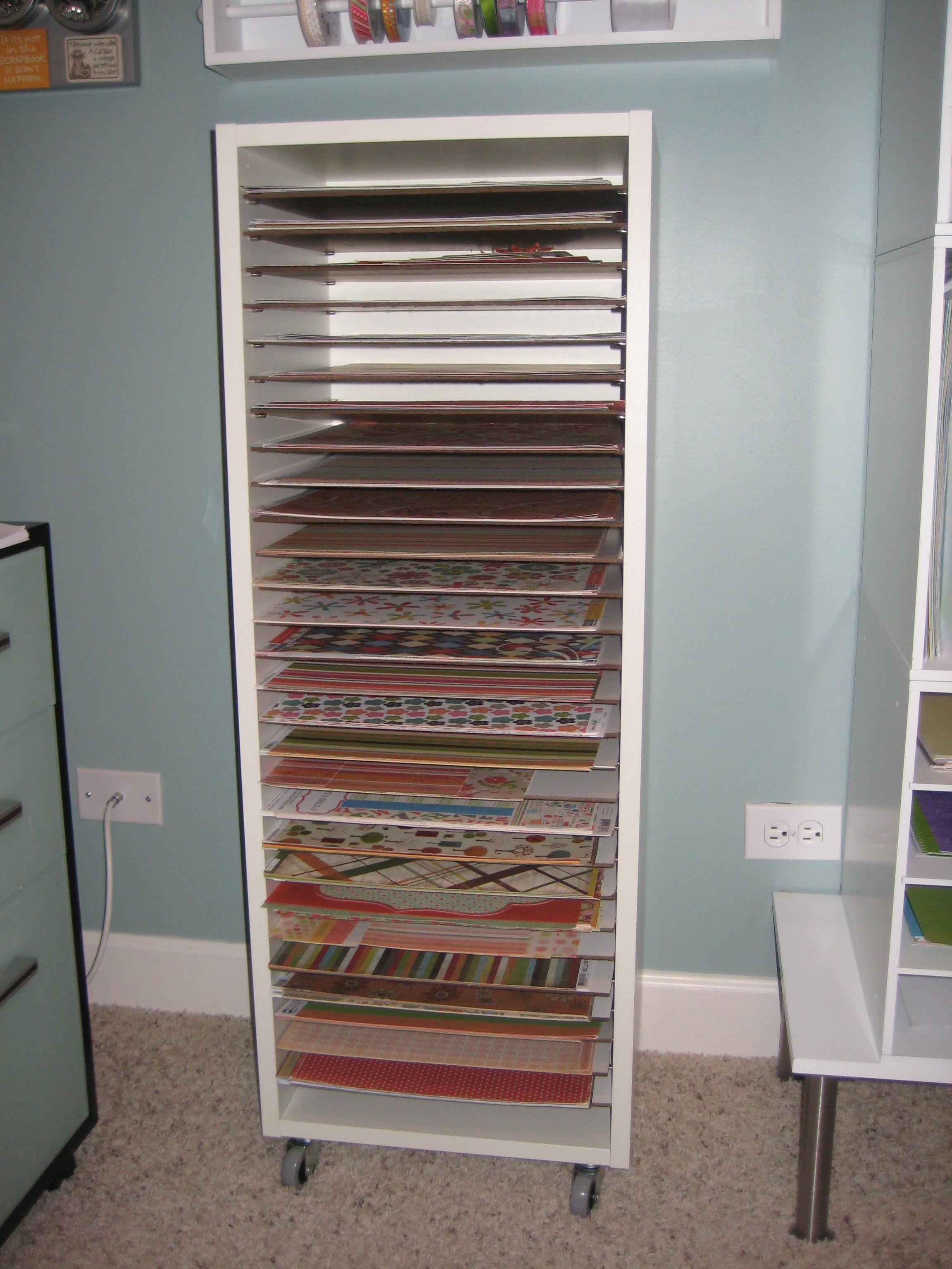 Kitchen Storage Boxes Tiled Countertops Scrapbook Paper Craft Room