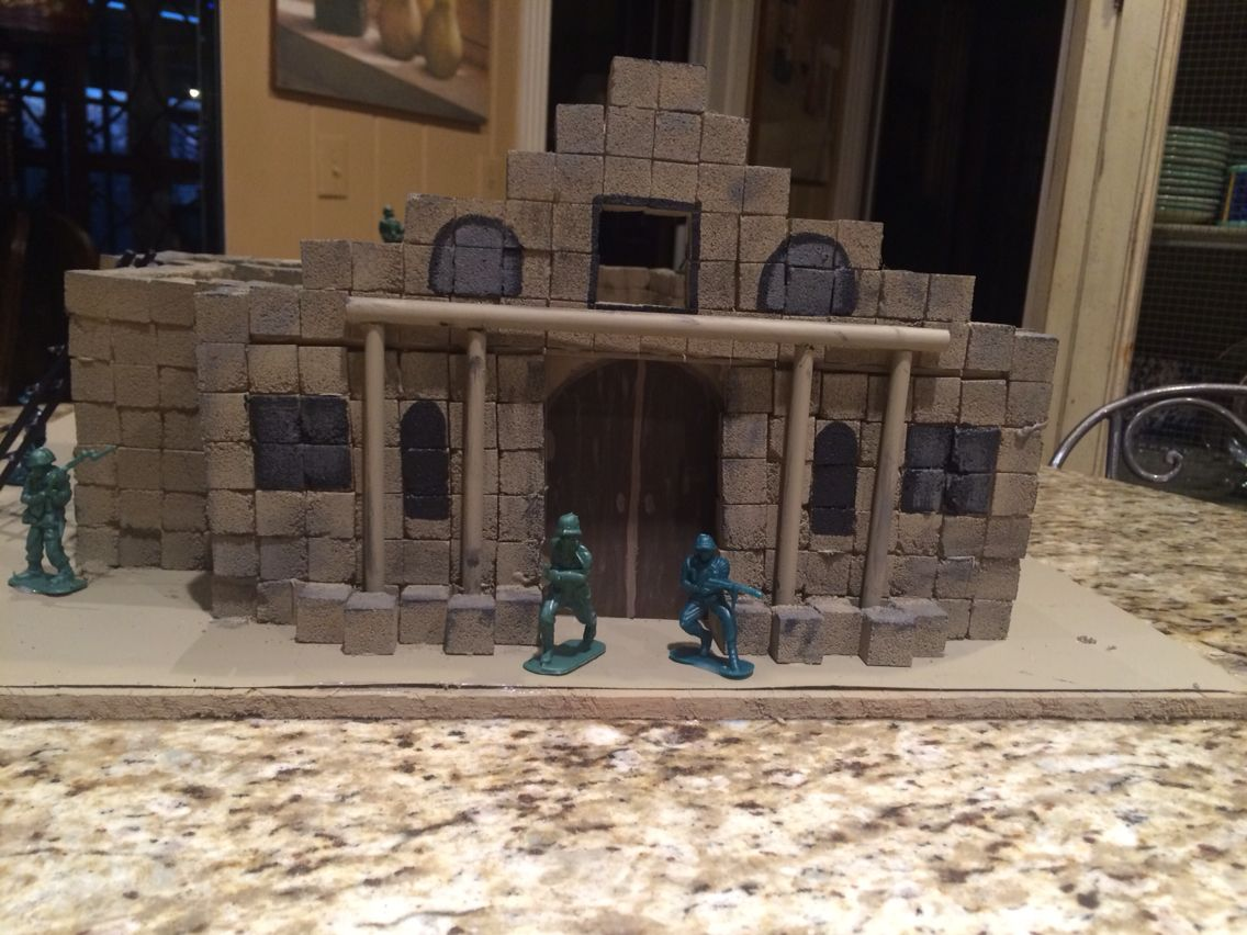 Alamo Project Made Out Of Sugar Cubes
