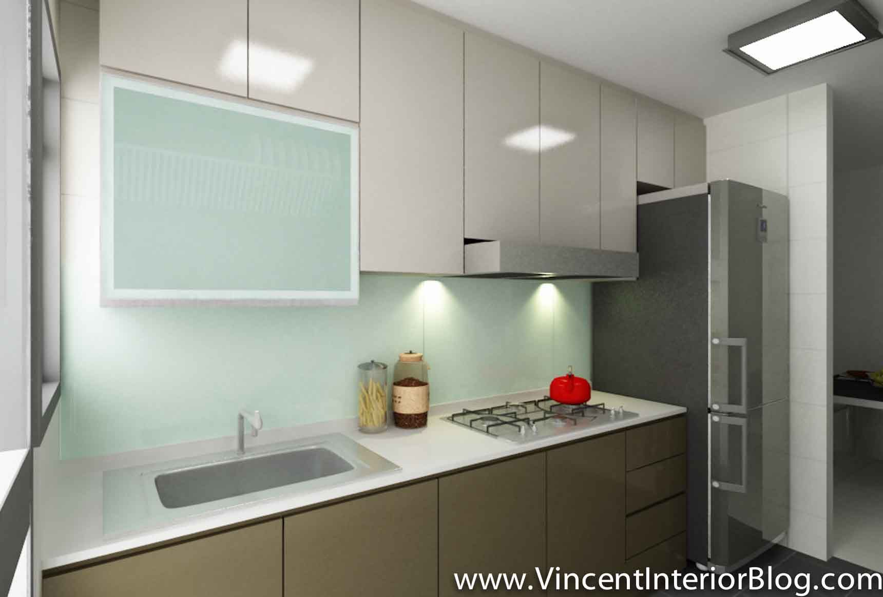 Small singapore kitchen layout google search small for Cupboard renovation ideas