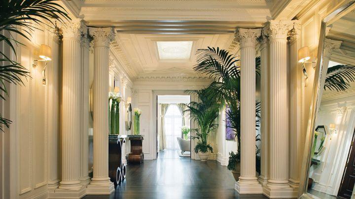 A entrada do nosso Wilshire Suite Presidencial