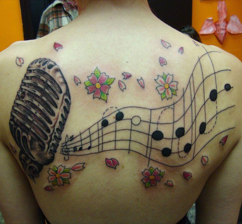 Music Notes Tattoos Design Guitar Chord : aguitarchords.com   Tattoo ...