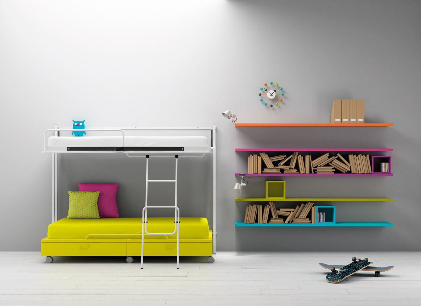 Muebles Bm 2000 Bm2000 Home Design Room Lit Mezzanine Kids Bedroom