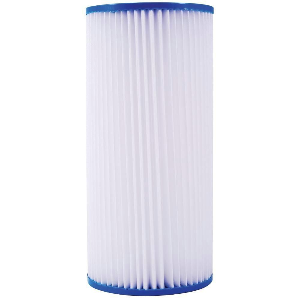 Watts 10 In Pleated Sediment 5 Micron Filter For Full Flow System Whole House Water Filter Best Water Filter Home Water Filtration