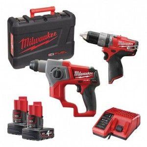Zestaw Narzedzi M18 Bpp2c 402c Milwaukee 4933447479 Milwaukee Power Drill Drill