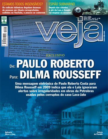 A reportagem de capa de VEJA reafirma que, no Brasil, sábado é o mais cruel dos dias para quem tem culpa no cartório