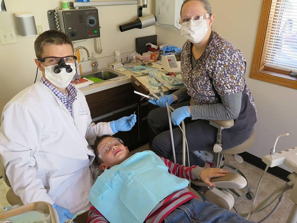 Feb. celebration of Dental Health Month LOWMAN FAMILY