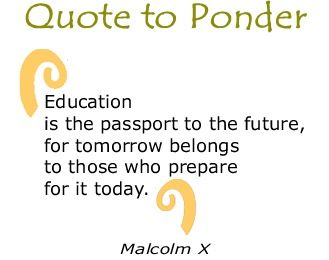 Education Quote Future