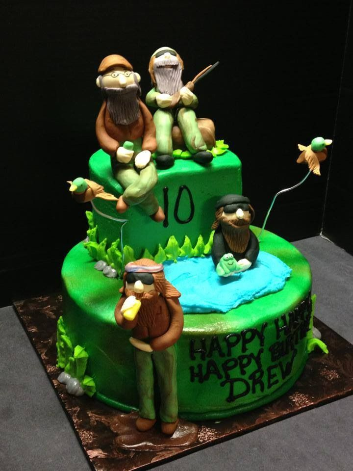 Duck Dynasty Birthday Cake With Images Duck Dynasty Party