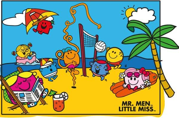 It's Summertime with Mr. Men Little Miss! XD (With images) | Mr ...