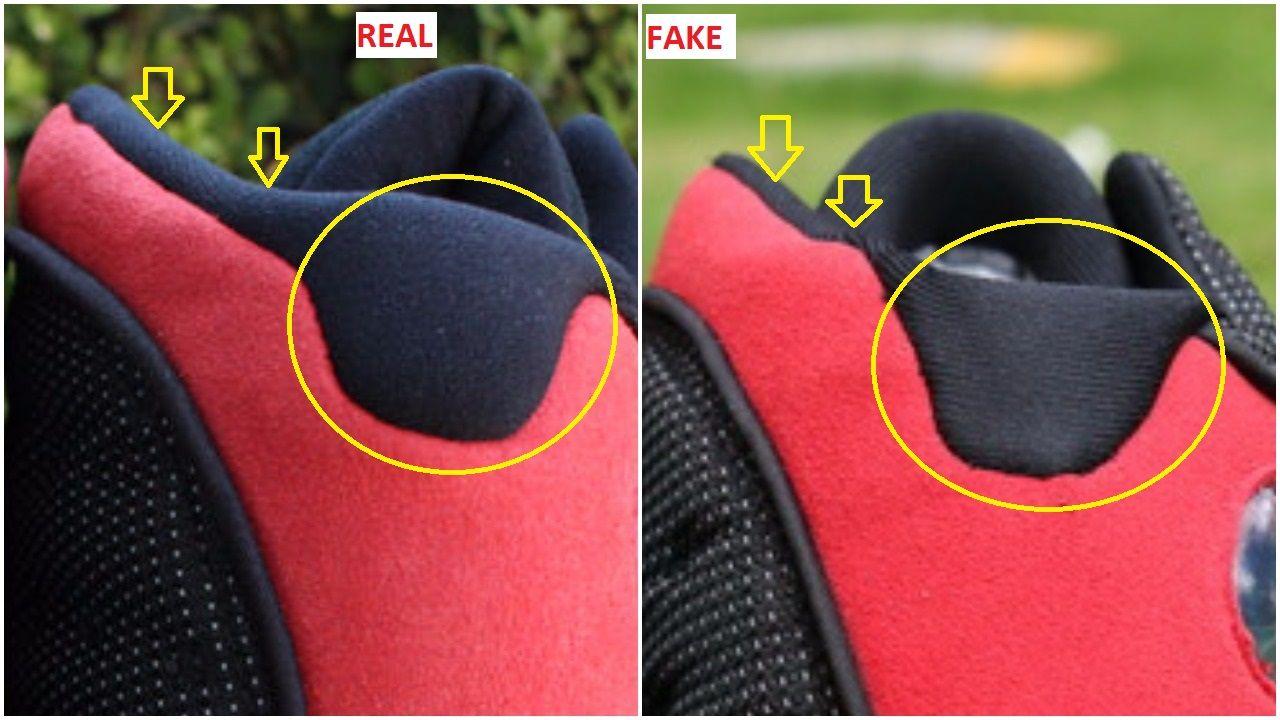 Fake Air Jordan 13 Black Red Bred