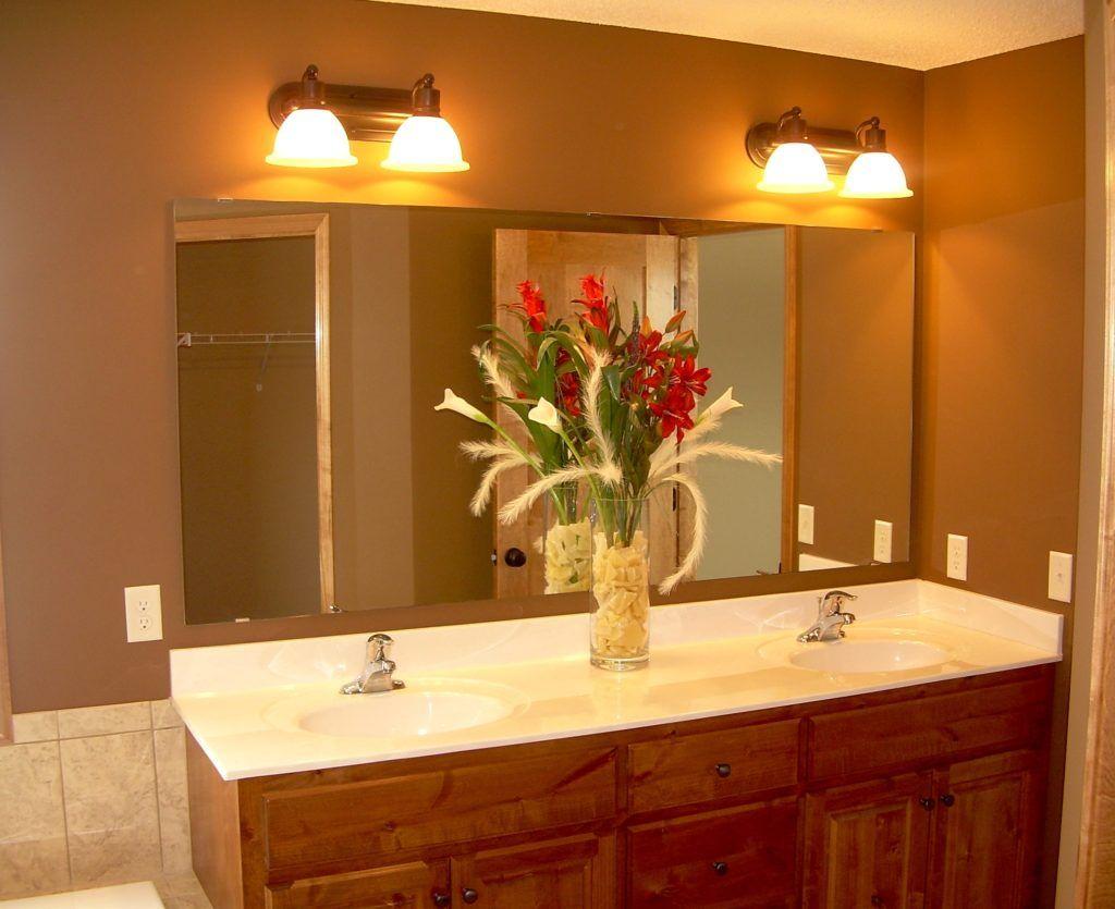 Wall Mirrors Over Bathroom Vanities