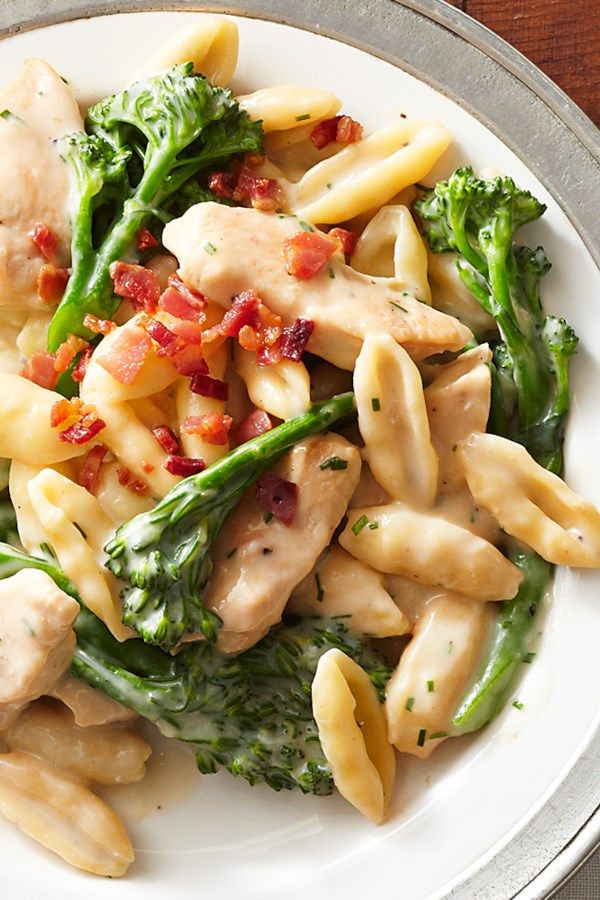 Chicken and Broccolini Cavatelli images