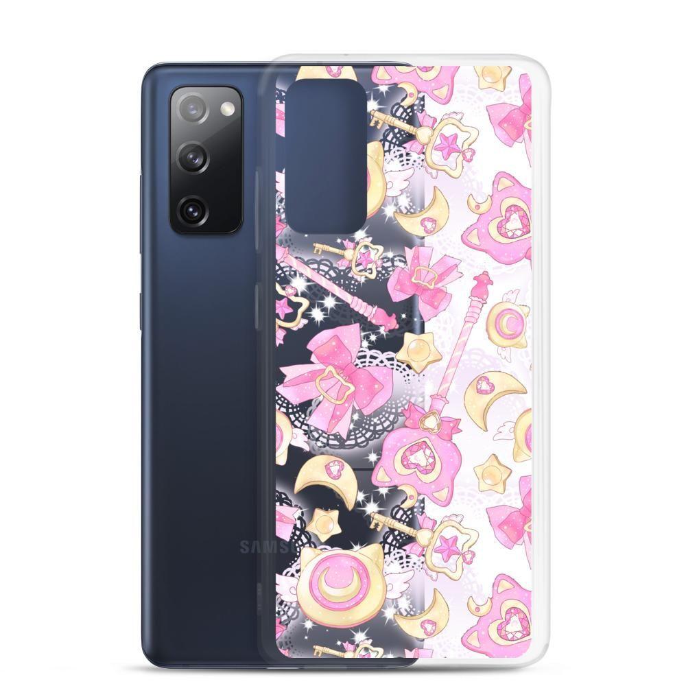 Magical Girl Samsung Case (Transparent) - Samsung Galaxy S20 FE