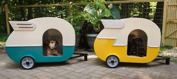 Diy Doggie Camper Van Dog Houses Dog Toys Your Pet