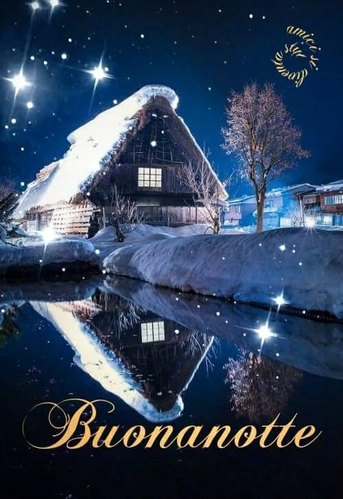 Immagini Nuove Della Buonanotte Invernali