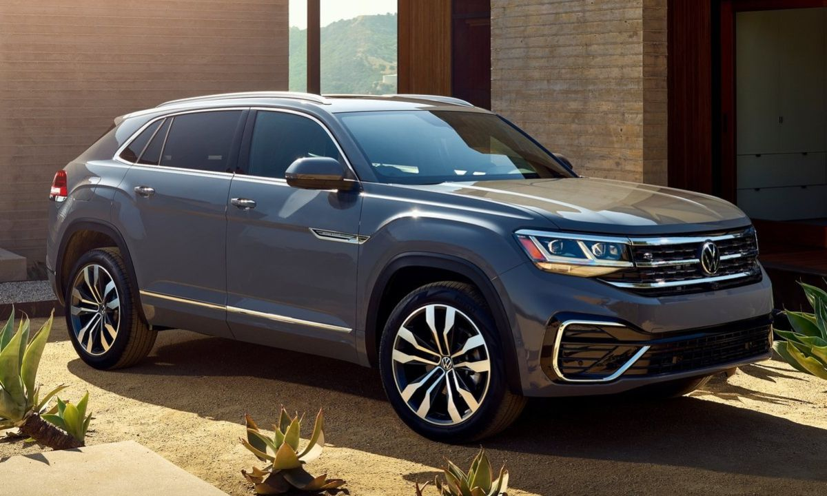 2020 Volkswagen Atlas Cross Sport Rocks The CoupeLike