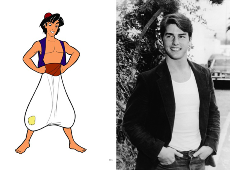 Real-life people behind famous Disney characters | Hexjam
