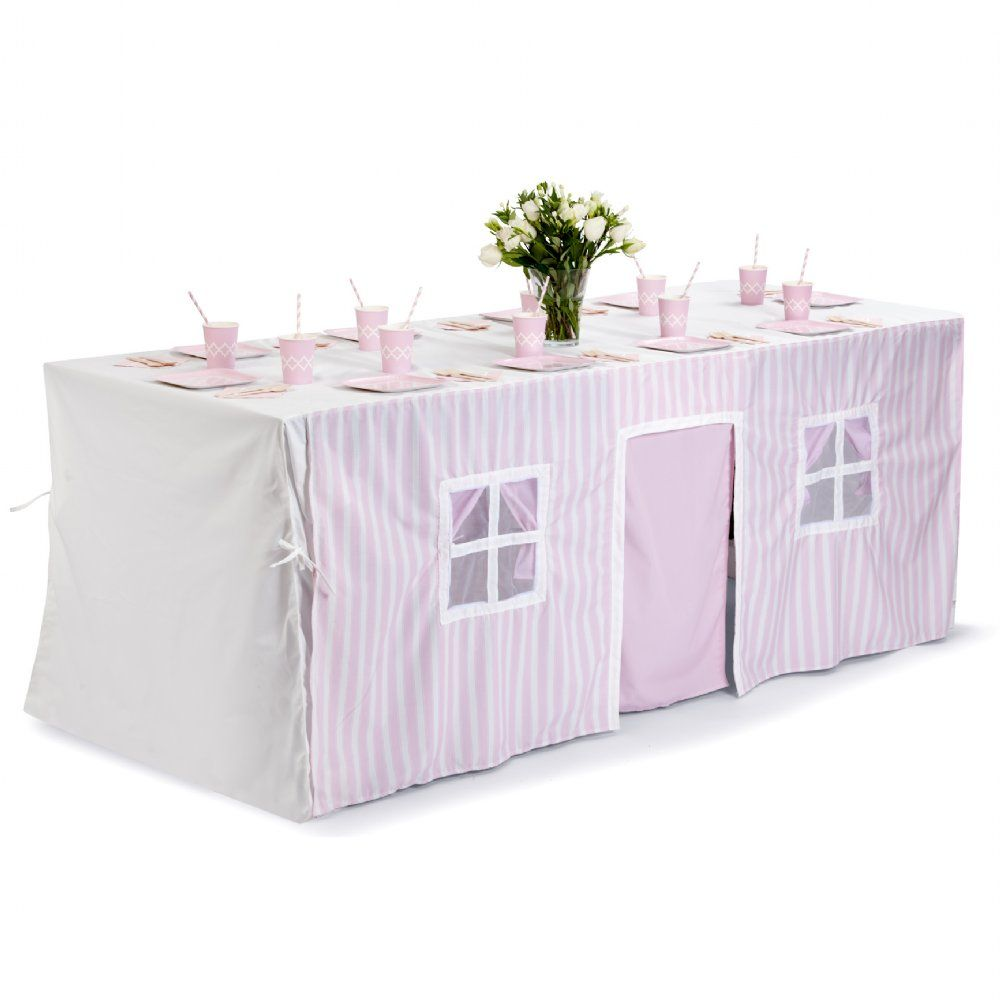 tabletop tent in pretty pink ideas for gabby and gab pinterest