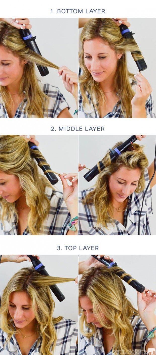 Curling Wand Tutorial Wand Hairstyles Curling Wand Short Hair Curling Hair With Wand