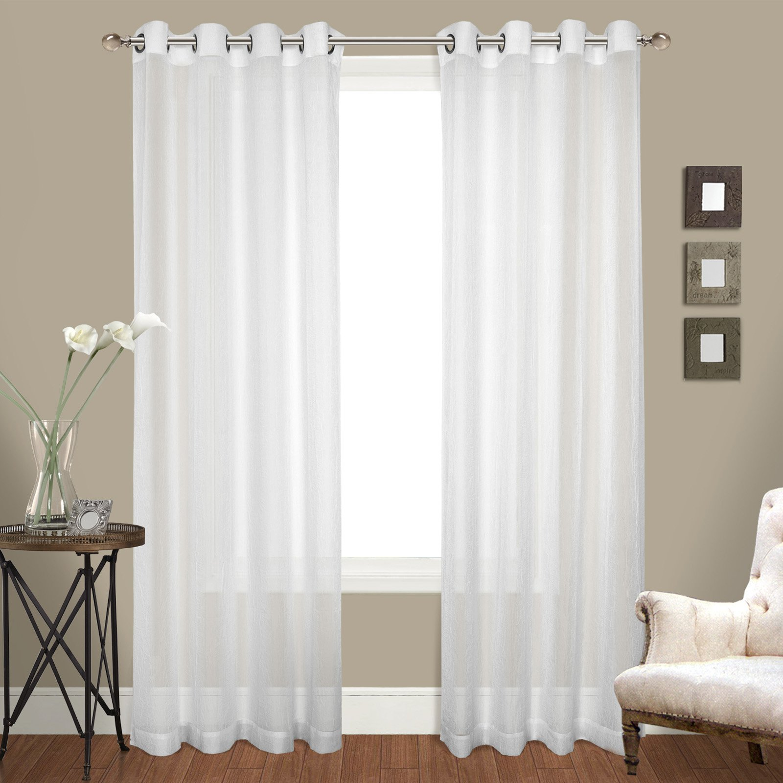 United Curtain Cranston Curtain Panel Pairs Panel Curtains