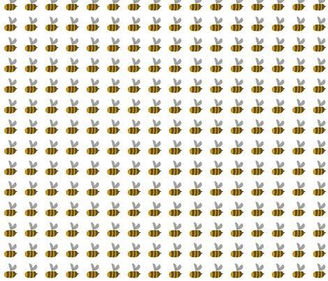 Spoonflower Fabric of the week voting: Bees