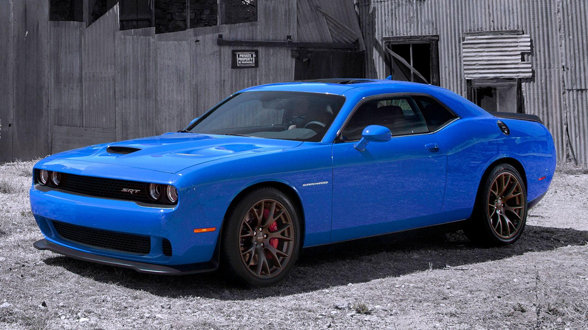 even though this hellcat is a challenger and not a 4 door charger still - 2016 Dodge Charger Hellcat Blue