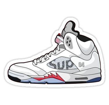 b8518575a902 Supreme x Nike Air Sticker in 2019