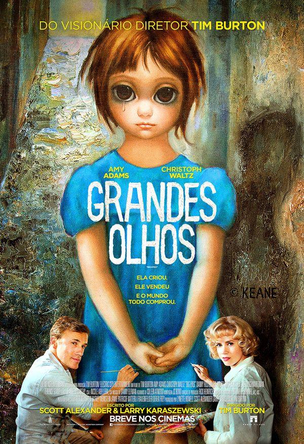 Novos Posteres Do Filme Grande Olhos Filmes Que Eu Gosto