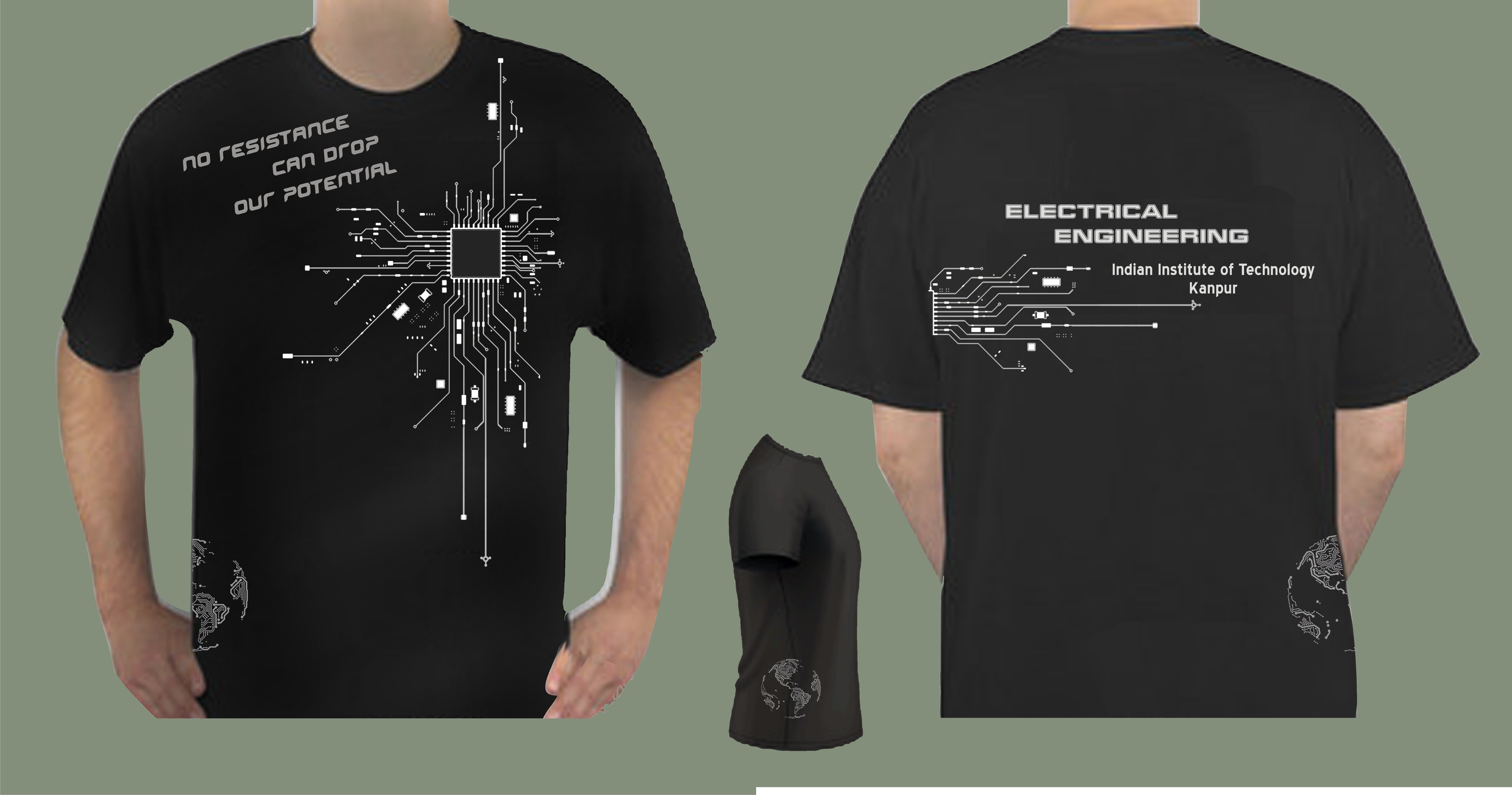 76429826 engineernig t shirts | Shirt Design - Shirt Designed for Electrical  Engineering Department .