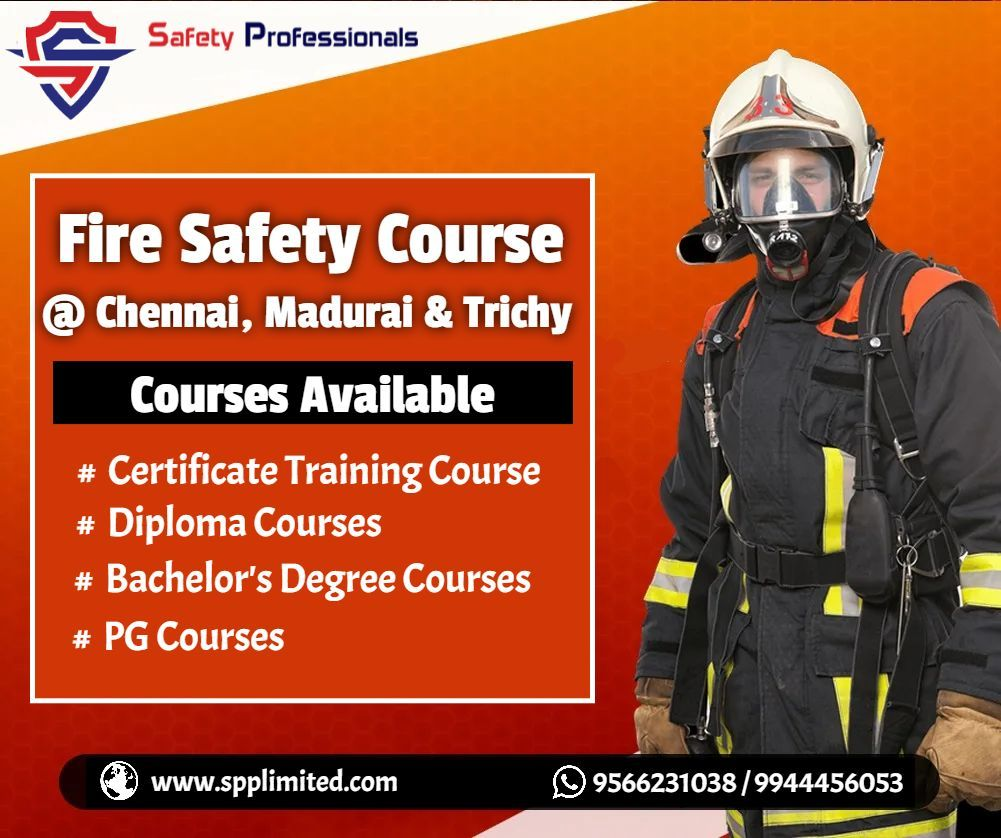 Fire Safety Training in Chennai, Madurai and Trichy in