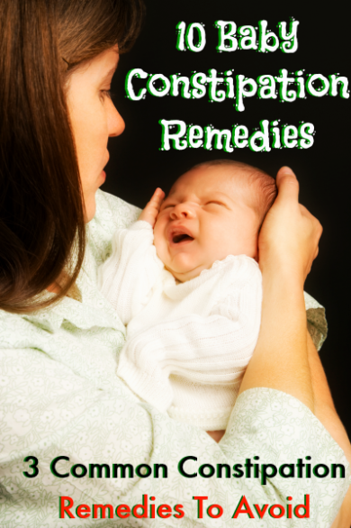 10 Natural Remedies For Infant Constipation And What You