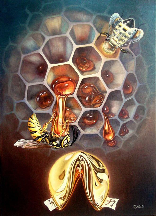 25 Beautiful Surreal Art works by Lohmuller Gyuri | Read full article: http://webneel.com/25-beautiful-surreal-art-works-lohmuller-gyuri | more http://webneel.com/paintings | Follow us www.pinterest.com/webneel