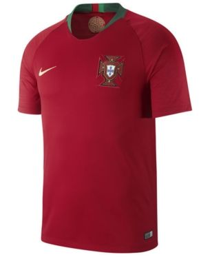66aeeaaeb78 Nike Men's Portugal National Team Home Stadium Jersey - Red XXL