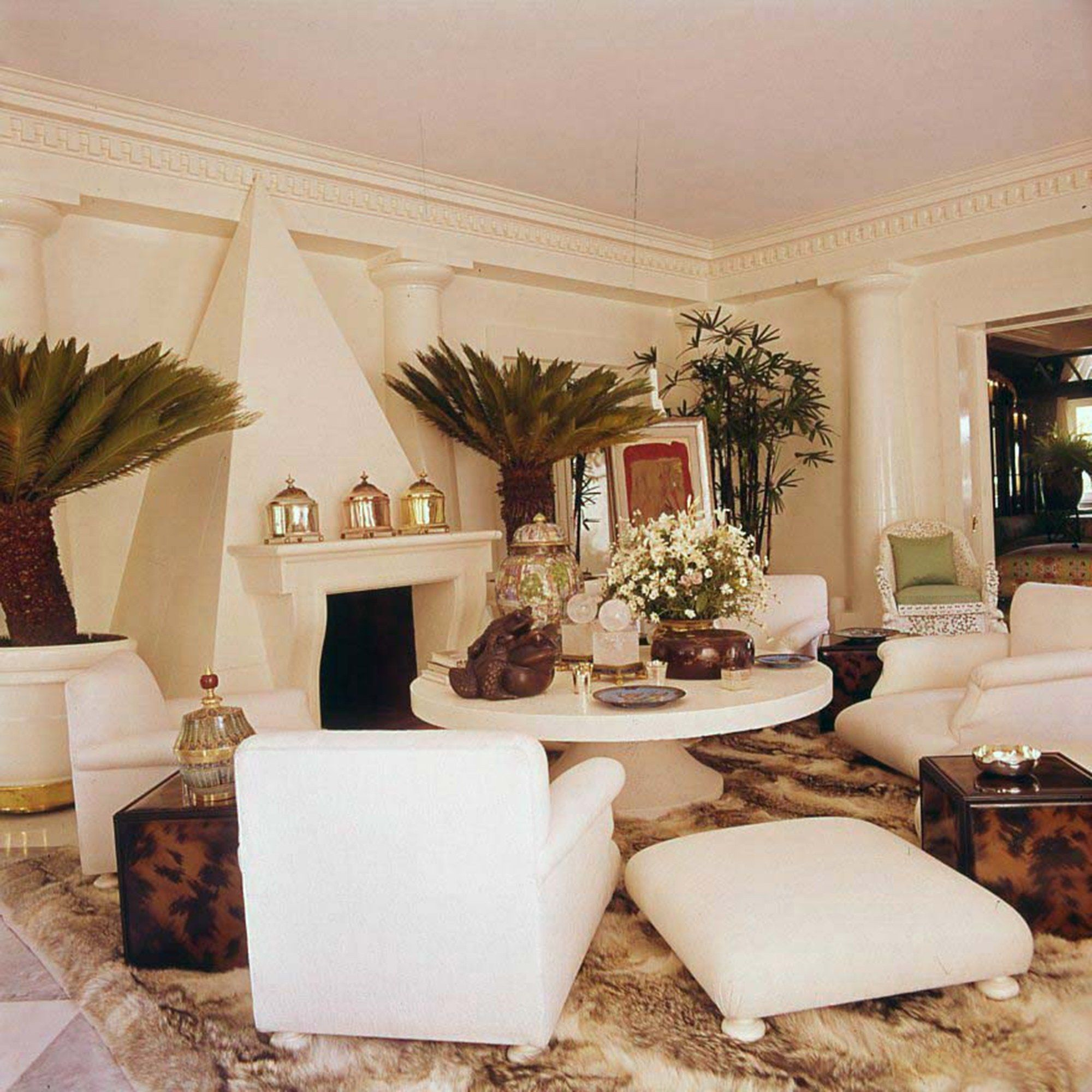 Look Inside Valentino's Glamorous And Bohemian Homes In