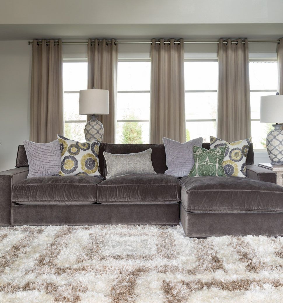 Gray Velvet Sectional Sofa: Pin By Homysofa On Sofas & Couches In 2019