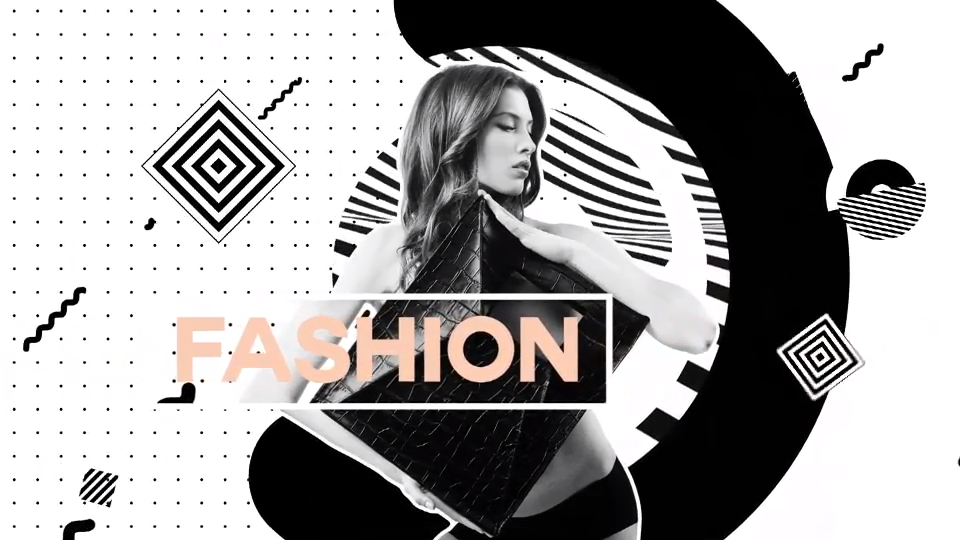 Modern Fashion Opener #motiongraphic
