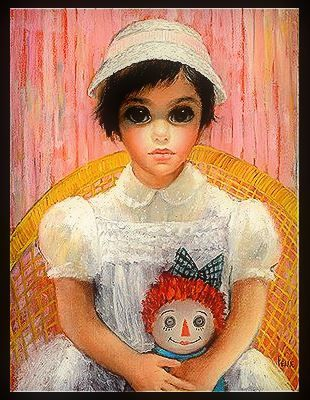 """Sunday Afternoon"" ~ Margaret Keane"